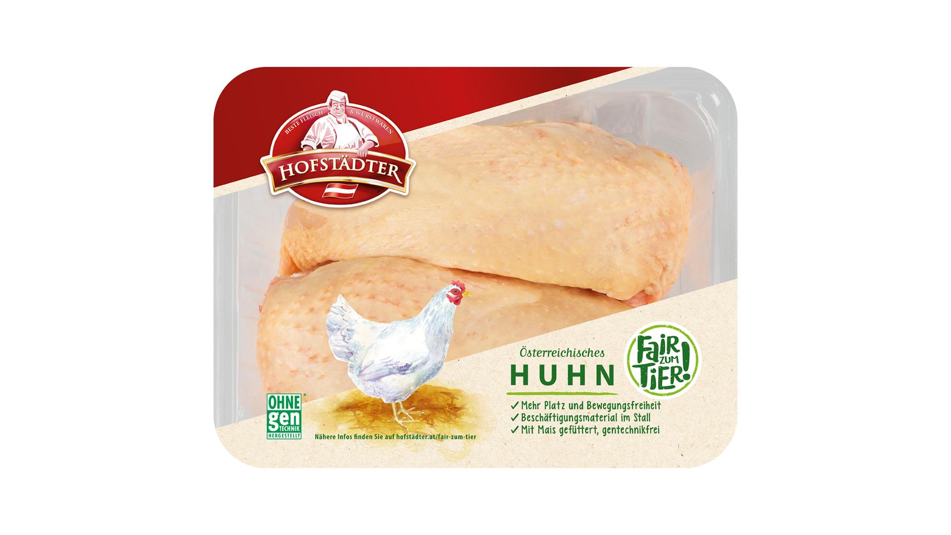 Hofstädter Hühnerbrüste 2 Stück