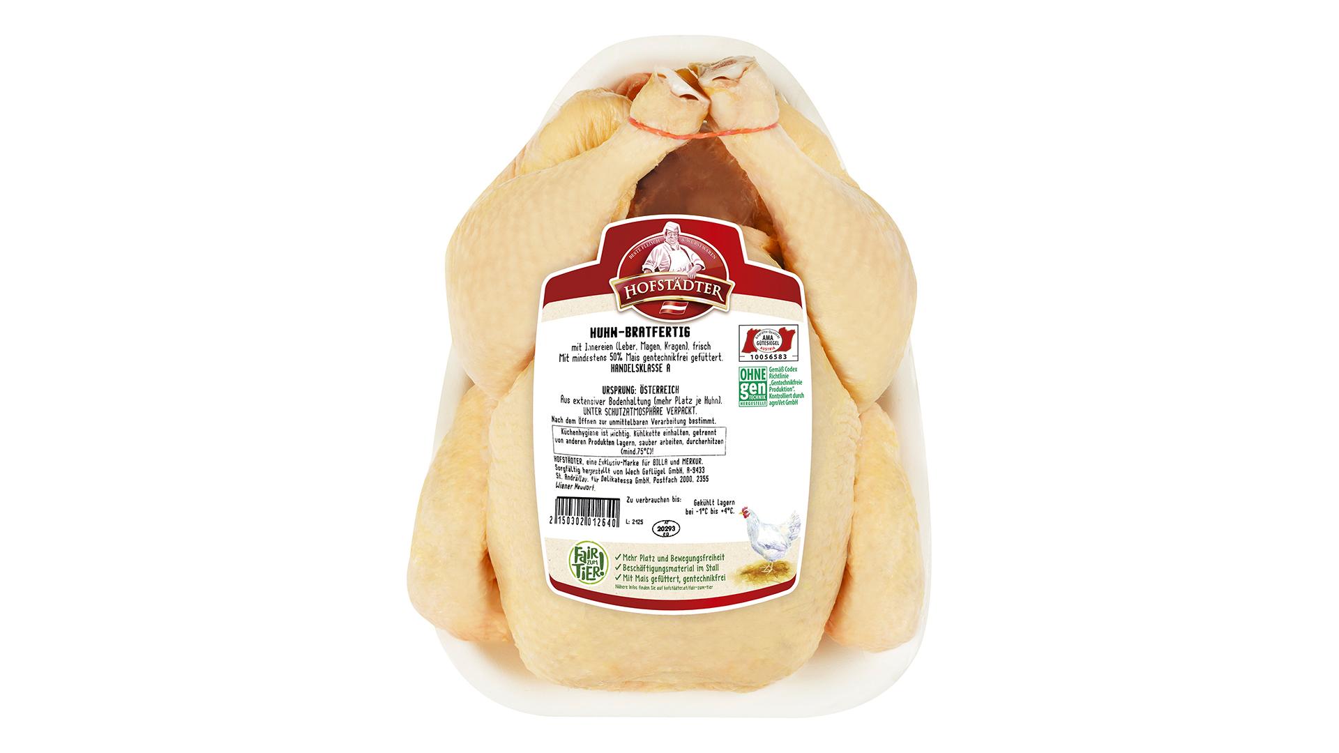 Hofstädter bratfertiges Huhn