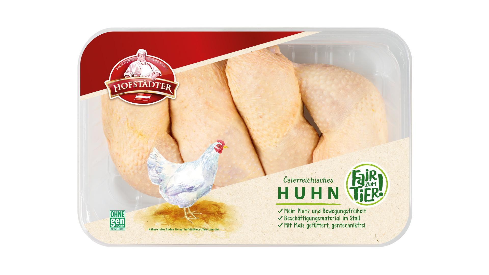 Hofstädter Hühnerkeulen 4 Stück