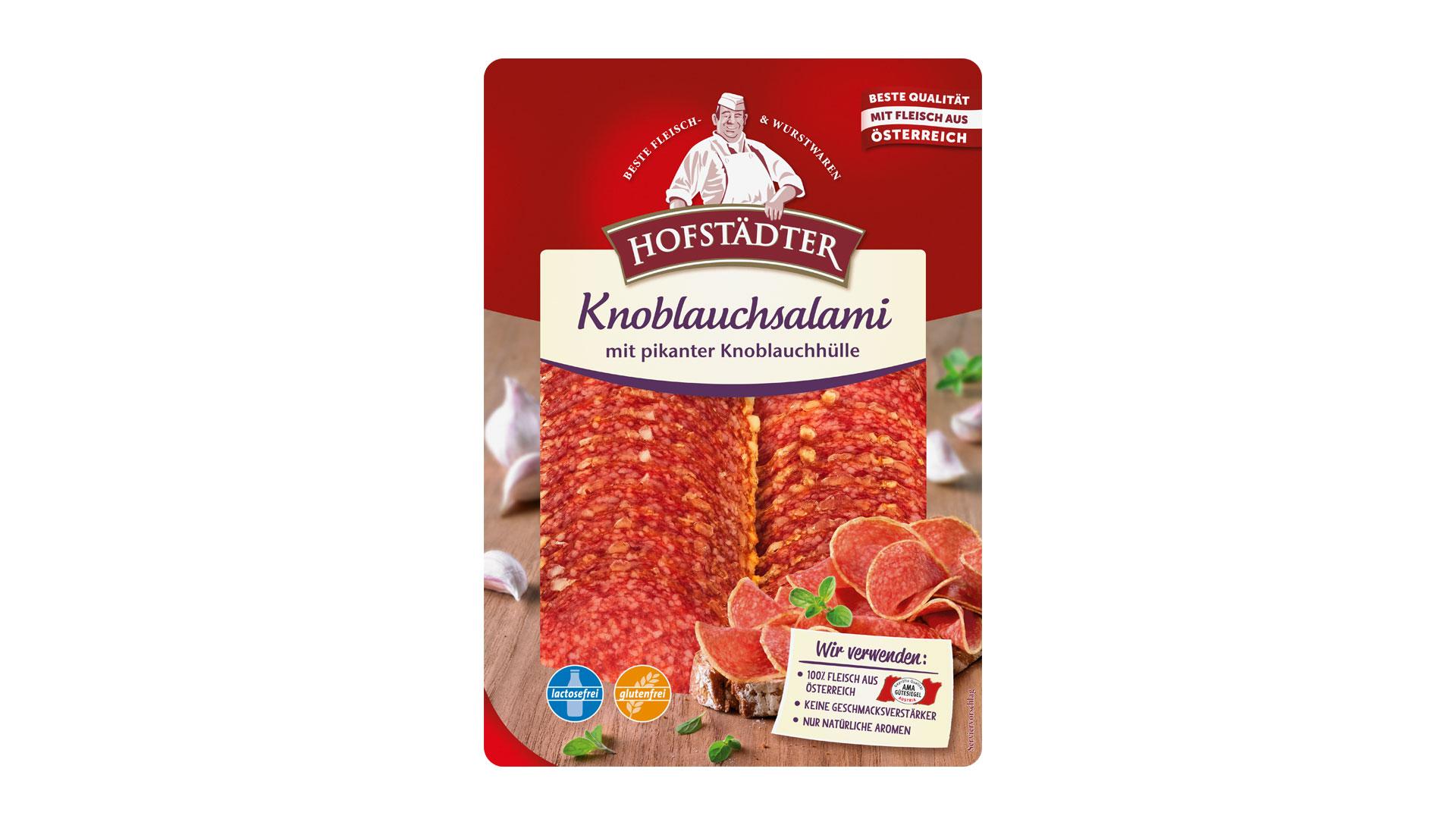 Hofstädter Knoblauchsalami