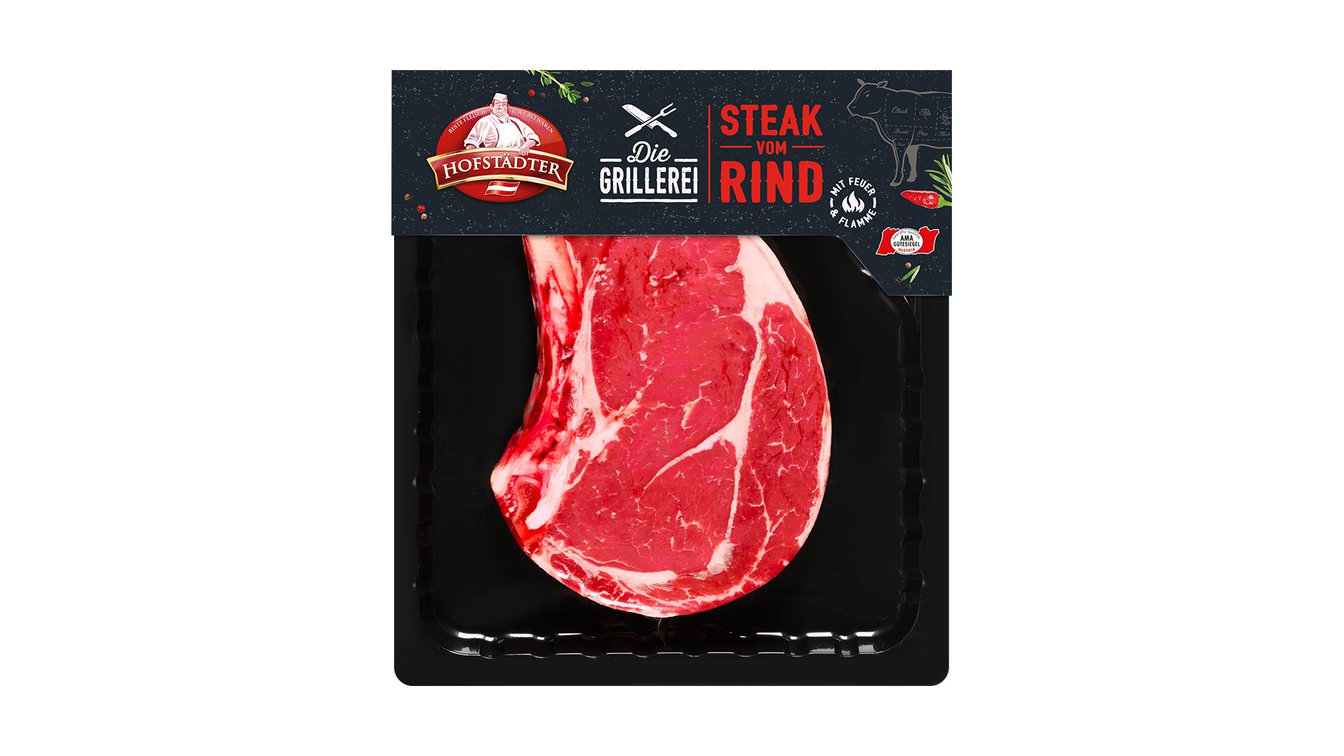Hofstädter Rib Steak mit Knochen