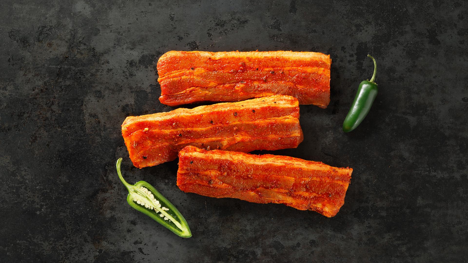 Hofstädter Bauchfleisch mariniert