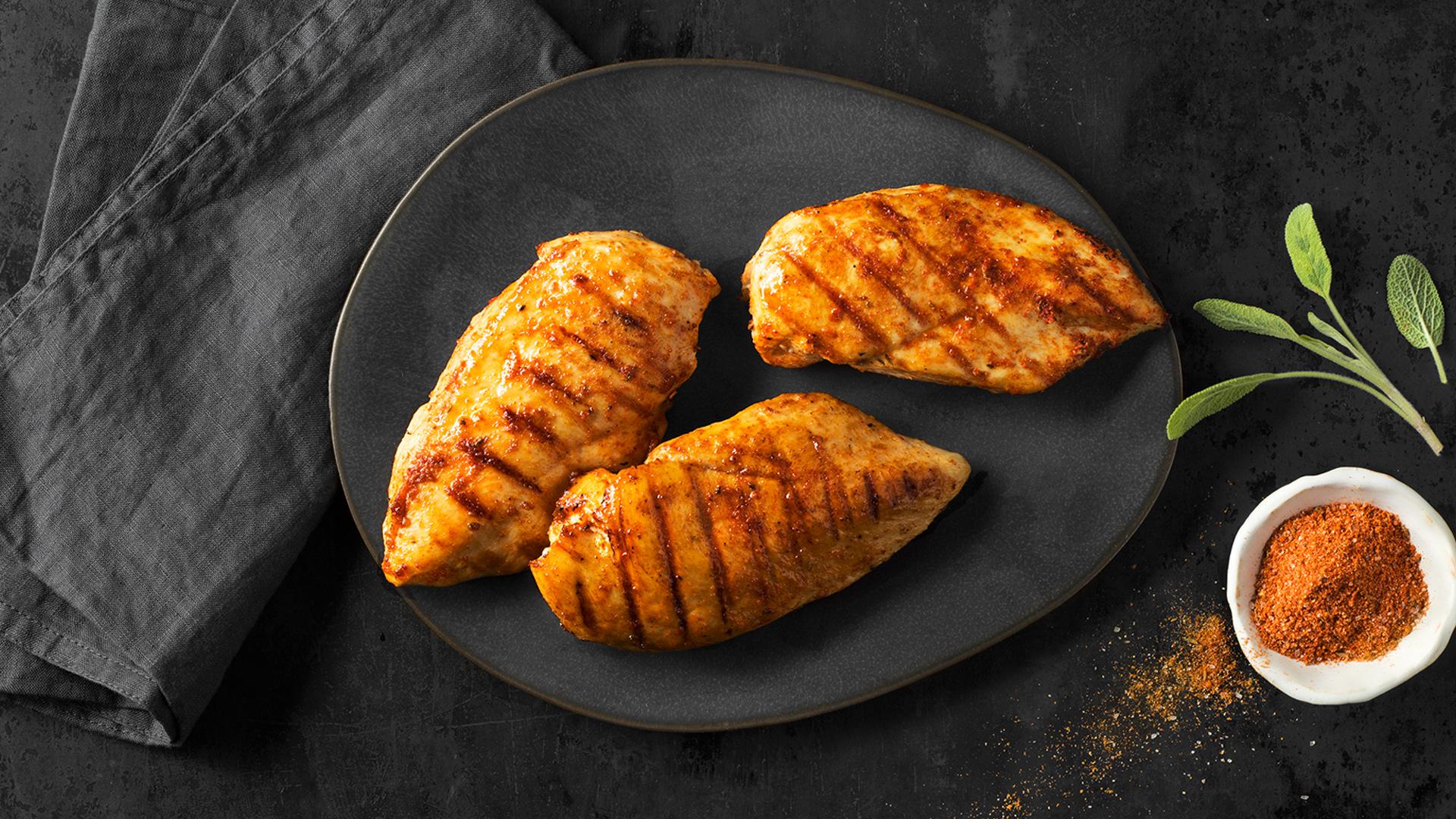 Hühnerbrust grillen Contentbild