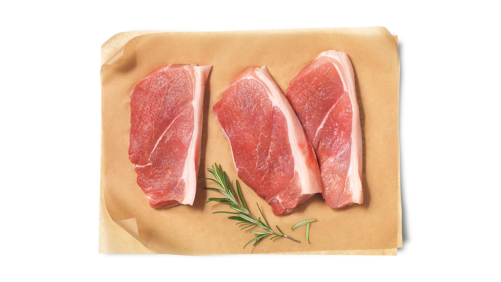 Hofstädter Schweinsschulter geschnitten