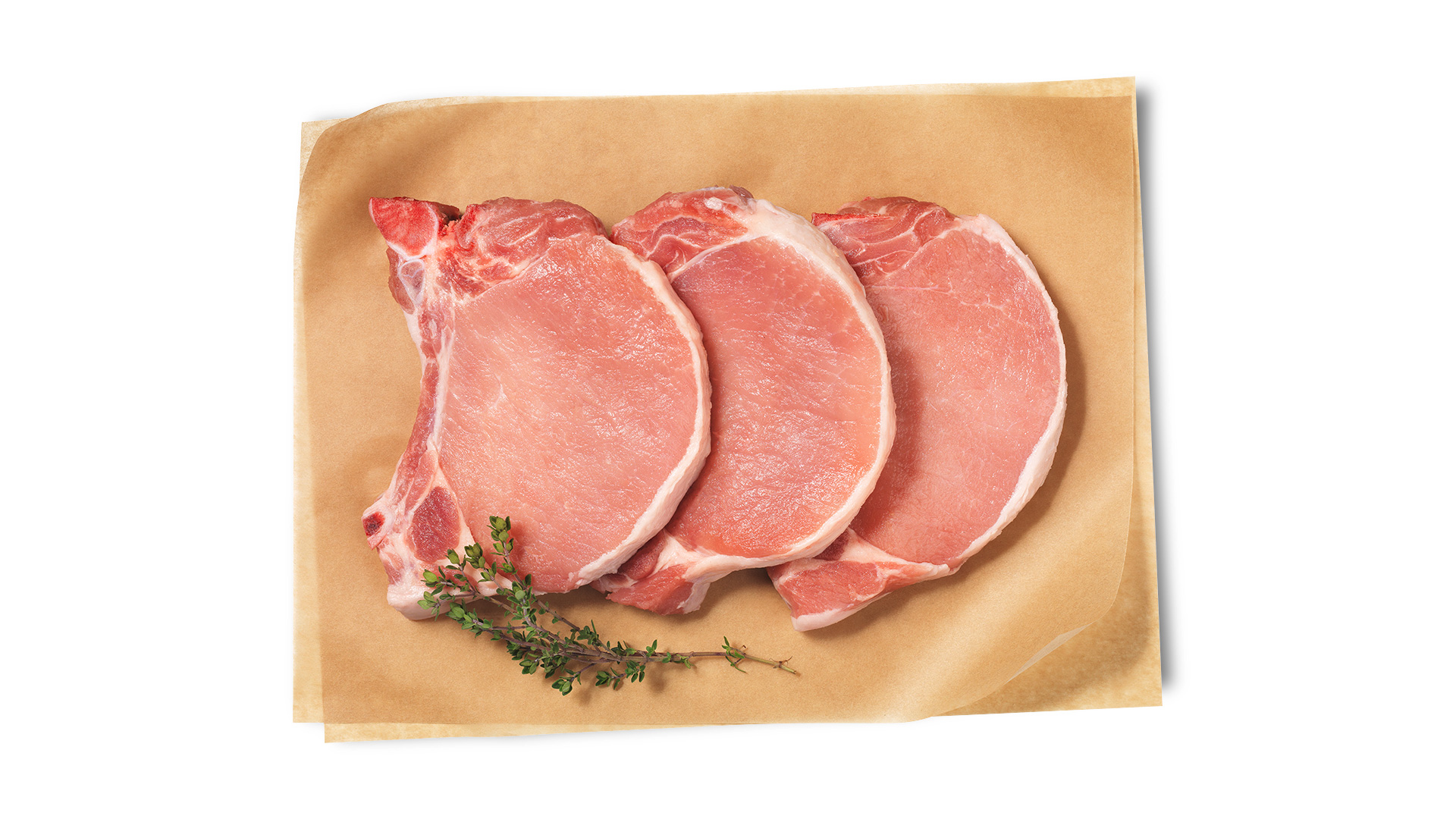 Hofstädter Schweinskotelett geschnitten