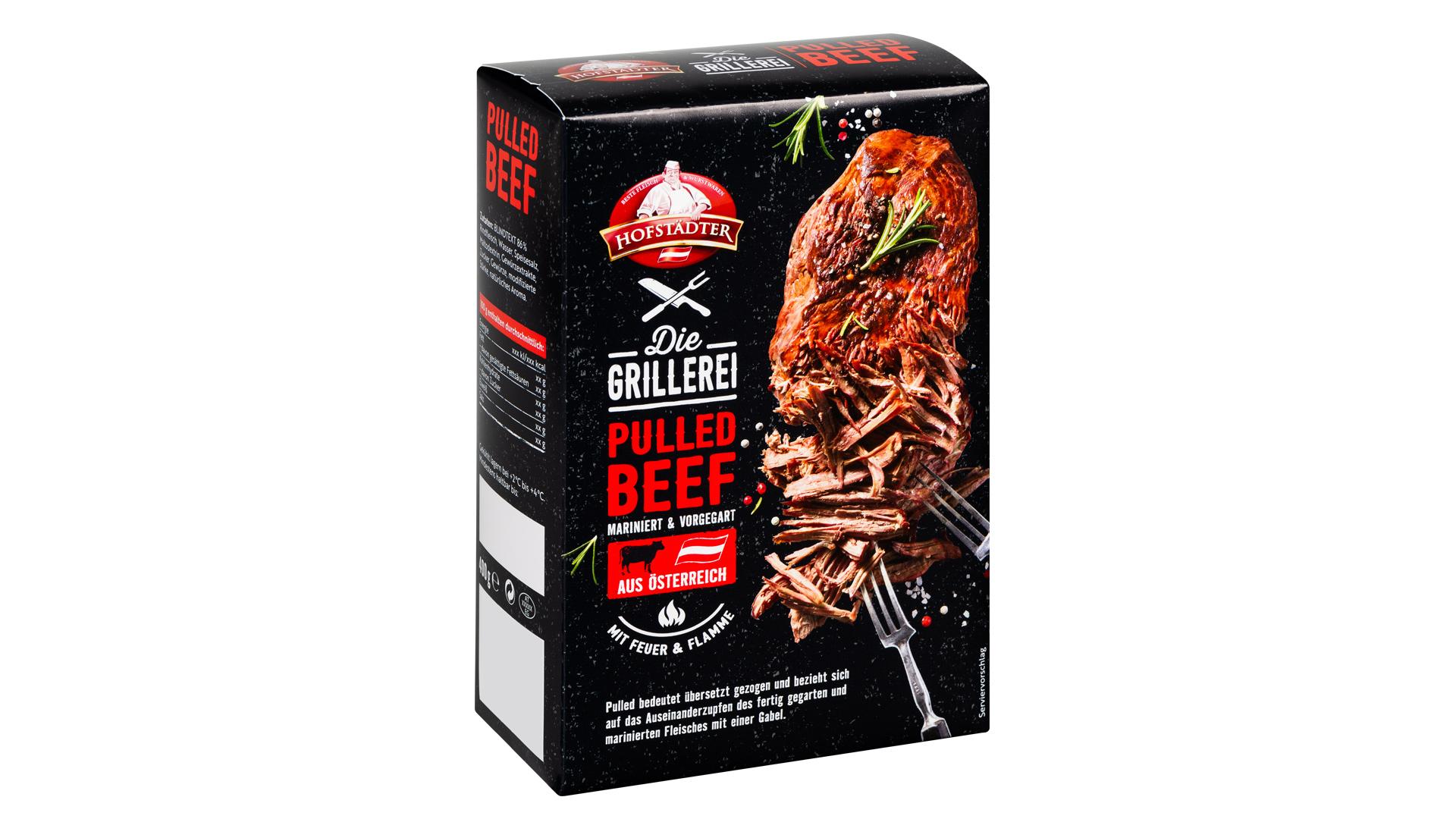 Hofstädter Pulled Beef Packshot