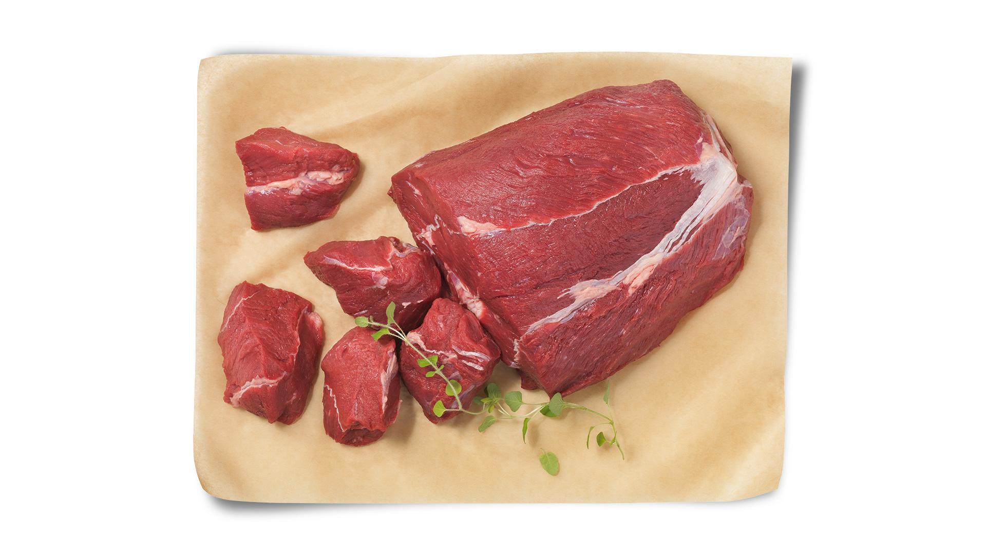 Hofstädter Rindsgulaschfleisch im Ganzen