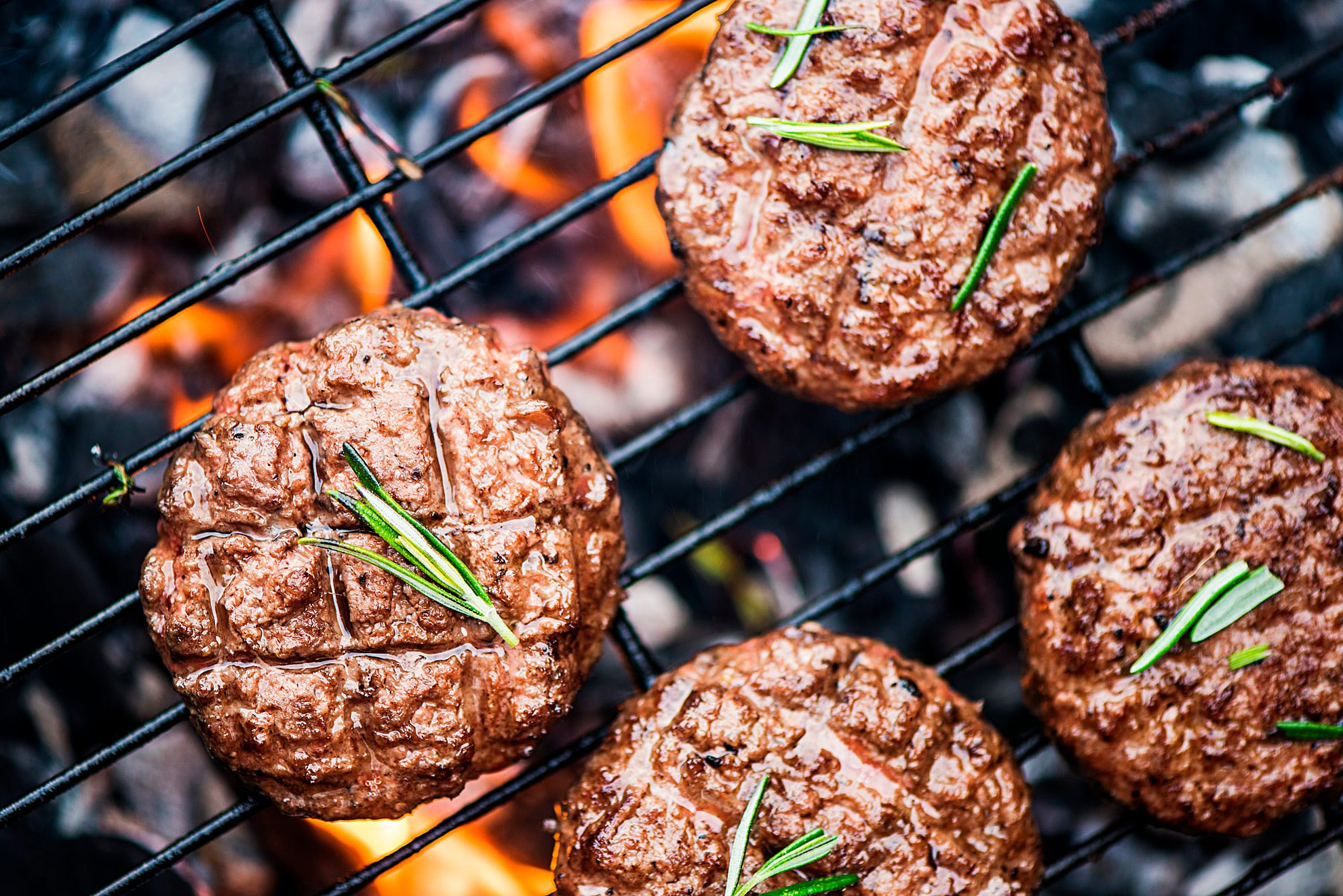 Burger grillen Pattie