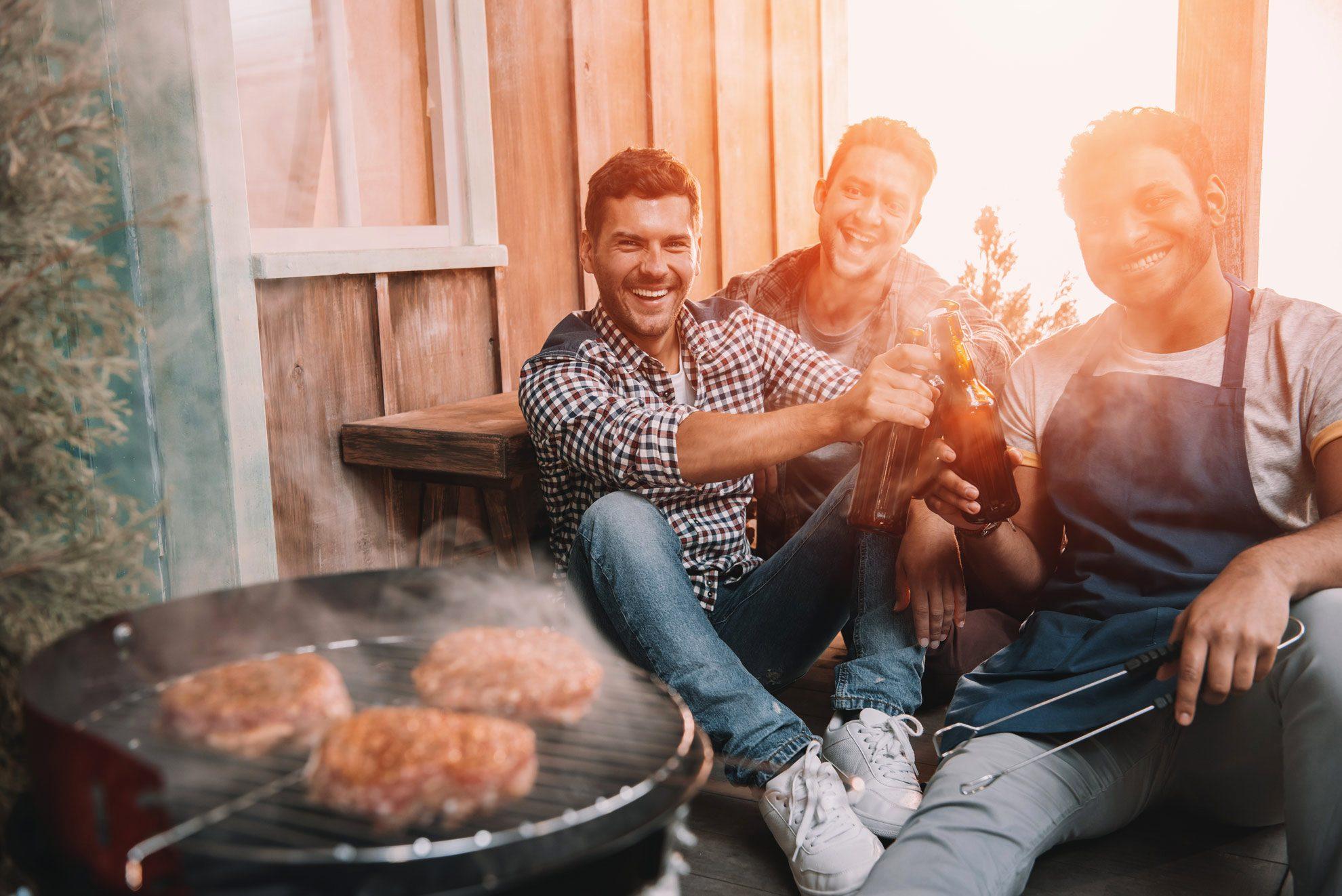 Burger grillen - Contentbild