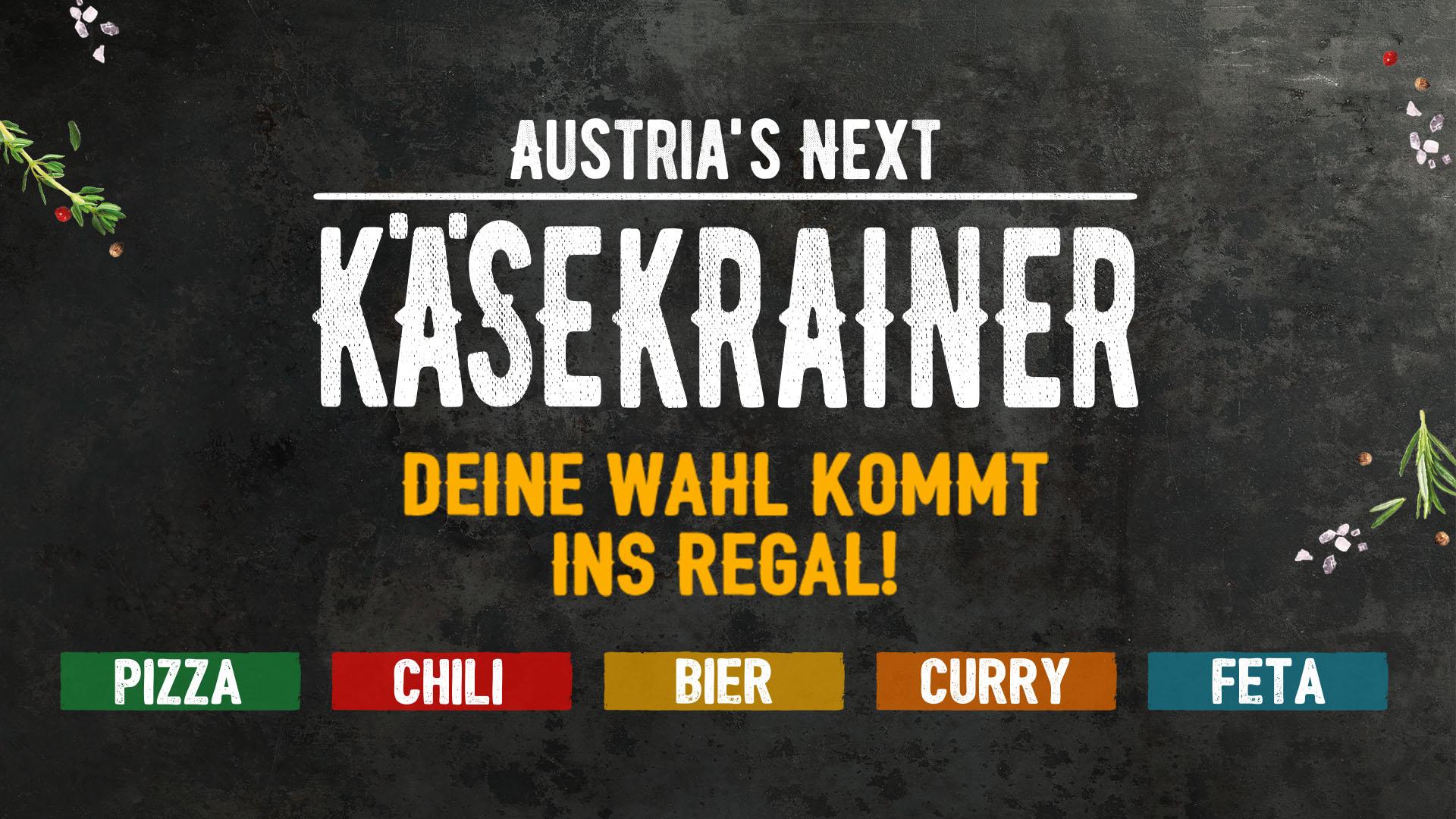 Austrias next Käsekrainer Headerbild