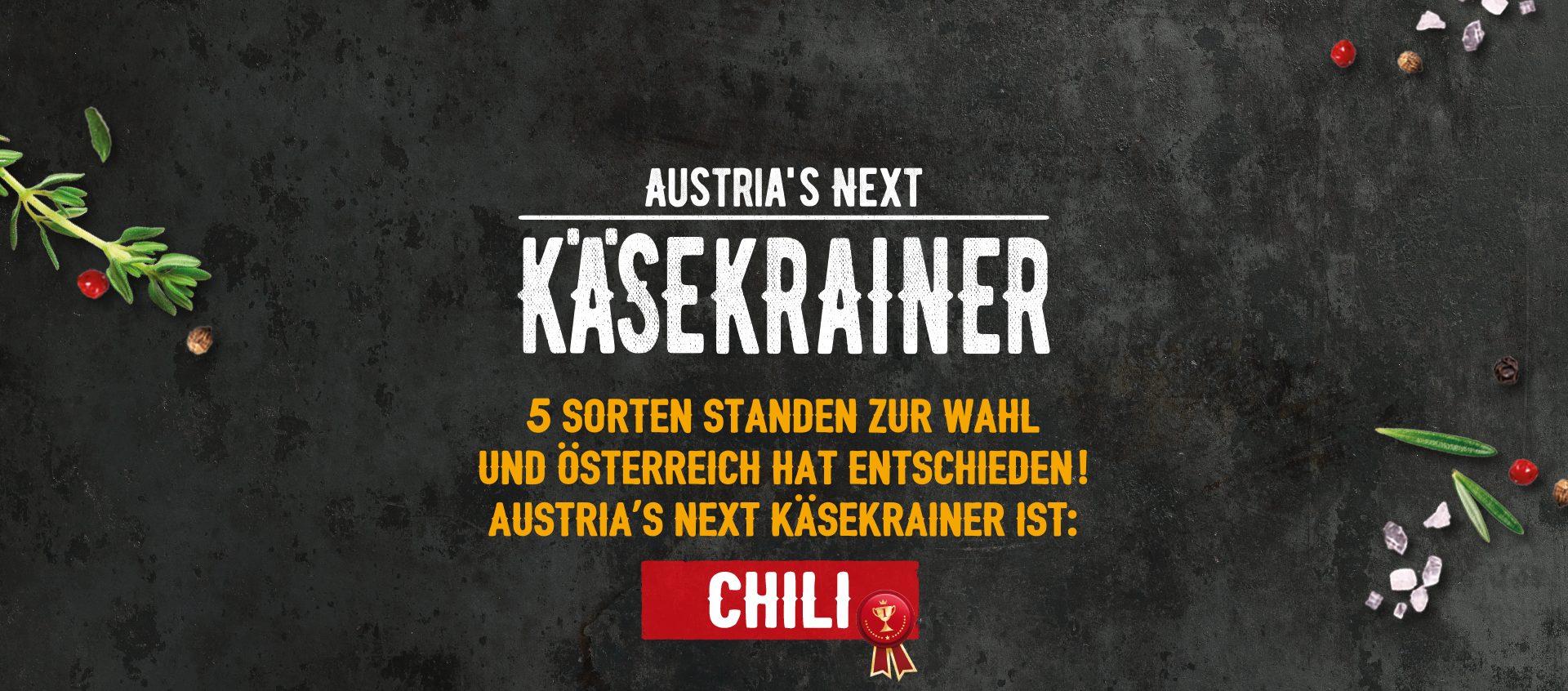 Austria's Next Käsekrainer Siegersorte