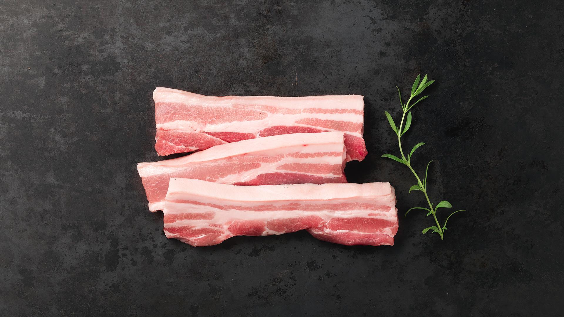 Hofstädter Bauchfleisch geschnitten