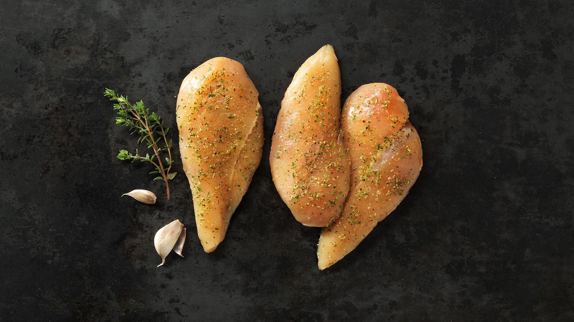 Hofstädter Hühnerfiletsteak gewürzt