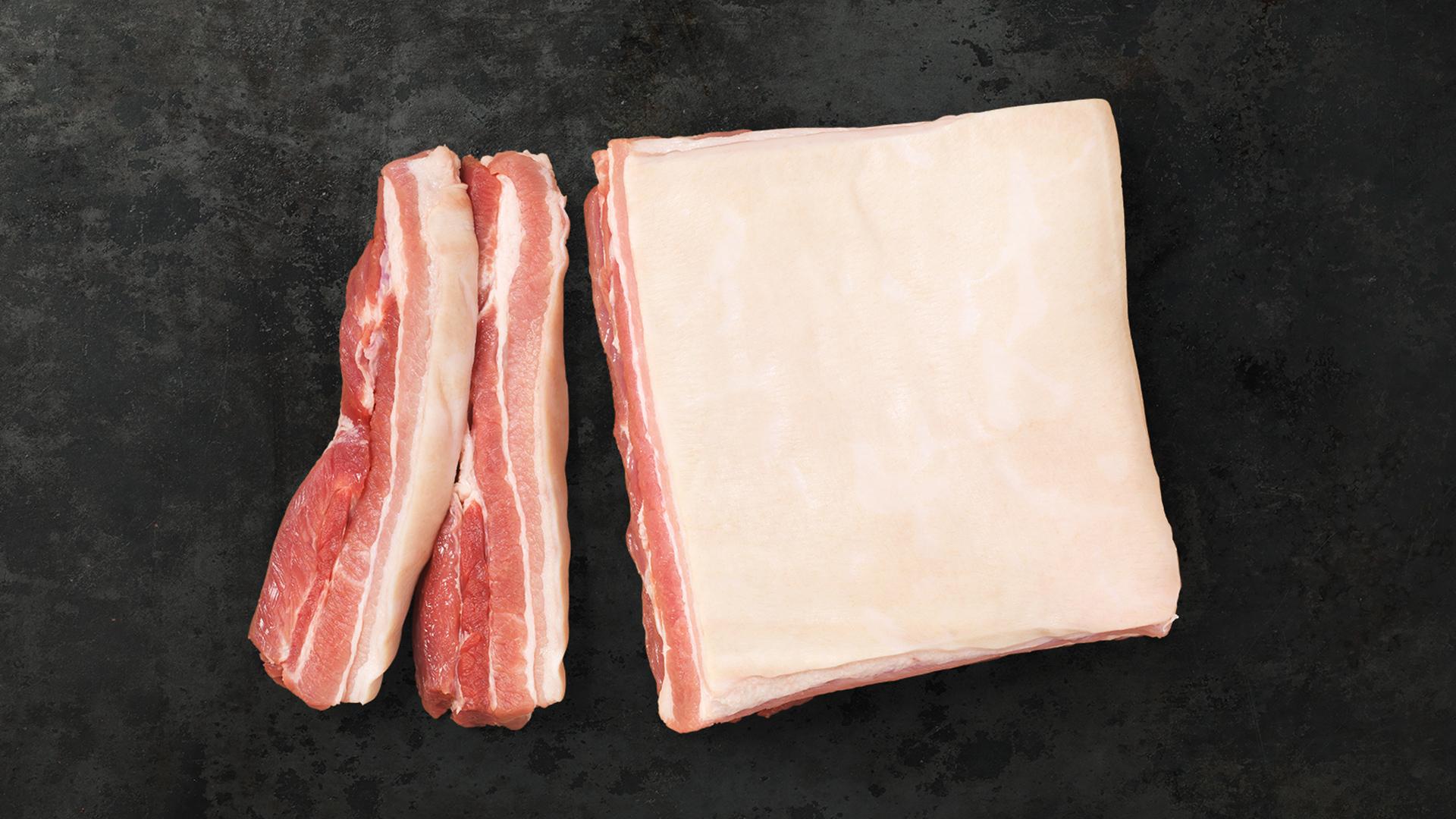 Bauchfleisch im Ganzen