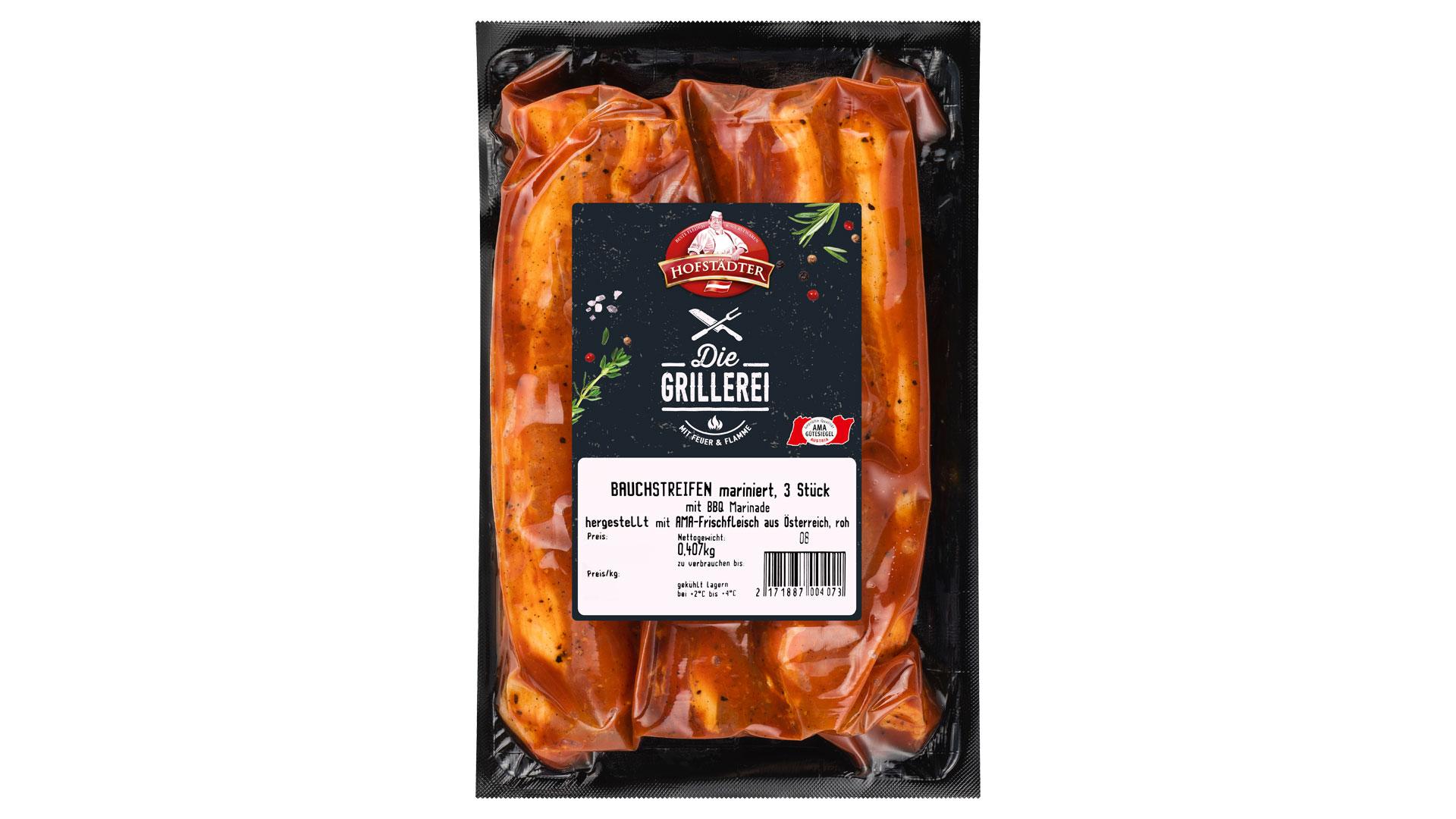 Hofstädter Die Grillerei Bauchfleisch mit BBQ