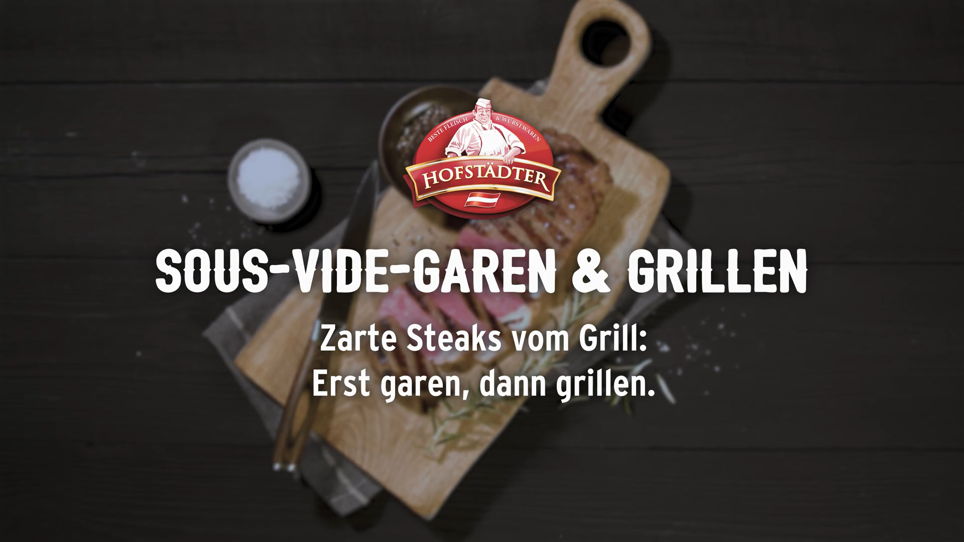 Steaks sous vide grillen