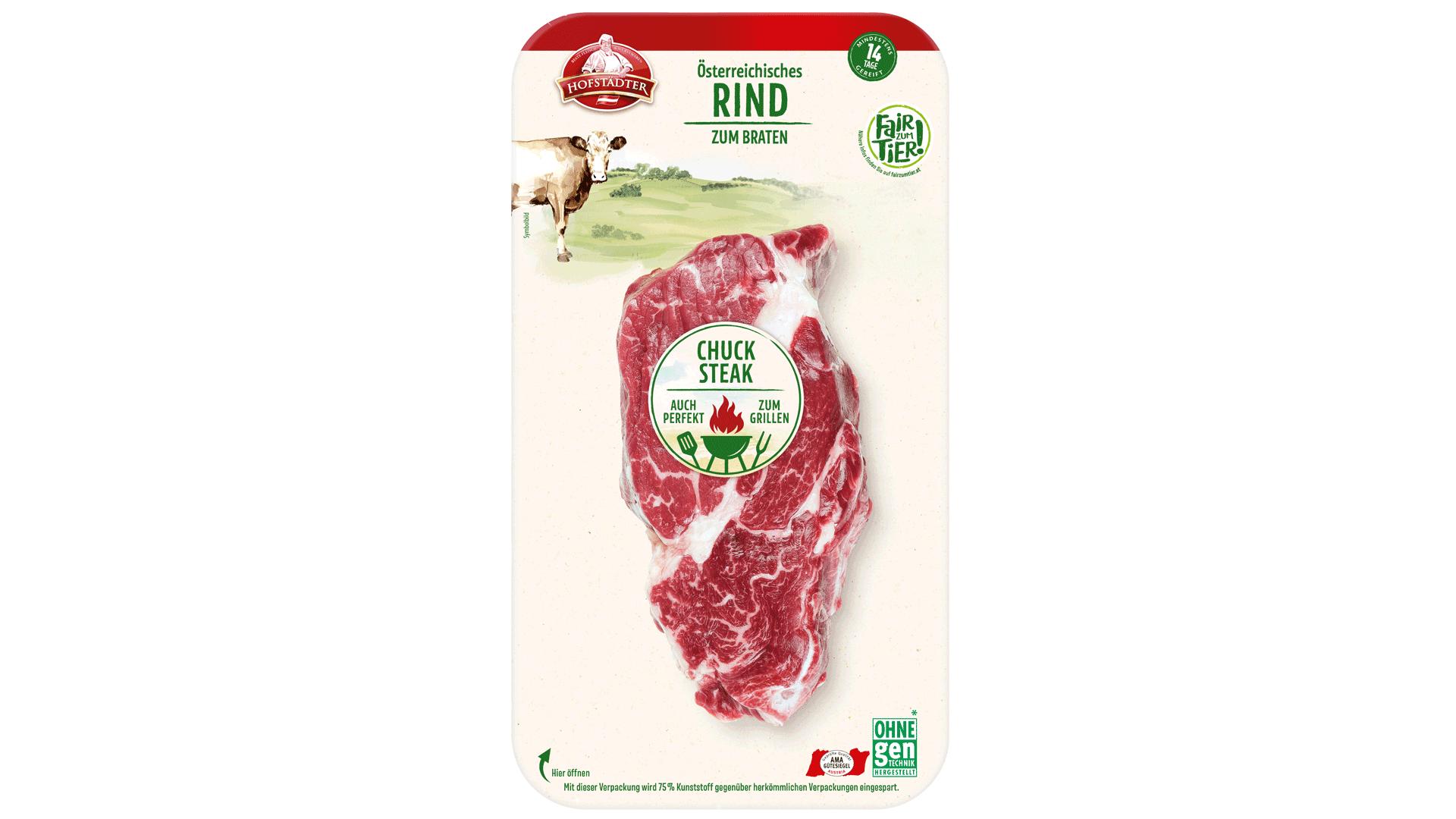 Hofstädter Fair zum Tier Chuck steak